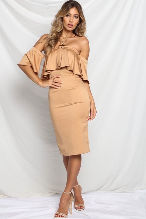 Isabelle Dress - Caramel