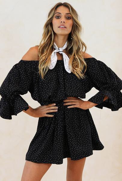 Emily Polka Dot Dress - Spot Print