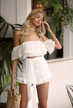 Taylor Top - White