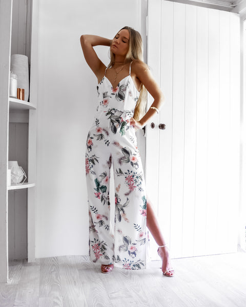 Jolene Jumpsuit In White