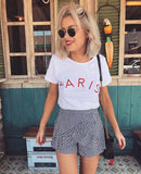 Paris Tee - White