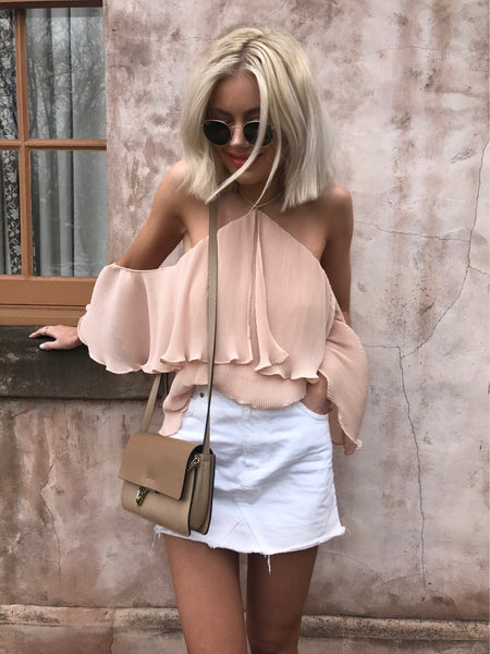 Sicily Top - Dusty Peach