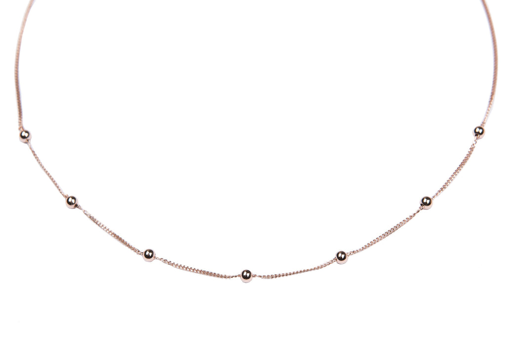 Chelsea Necklace- Rose Gold