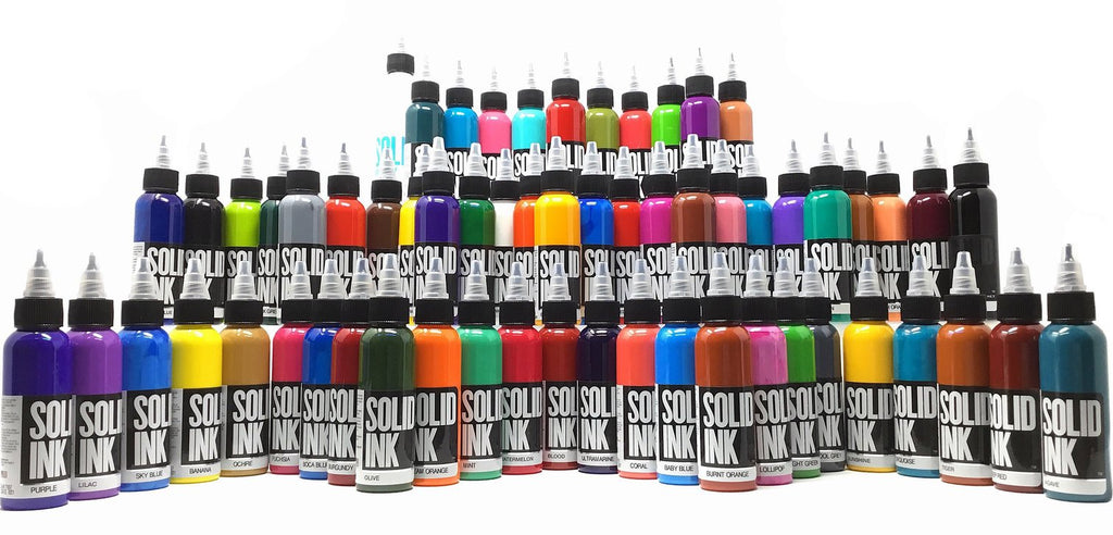 SOLID INK 60 Color Mega Set