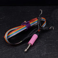 RAINBOW LIGHTWEIGHT AND SMALL CLIPCORD. MULTICOLOR CABLE. + NEODIMIUM MAGNET