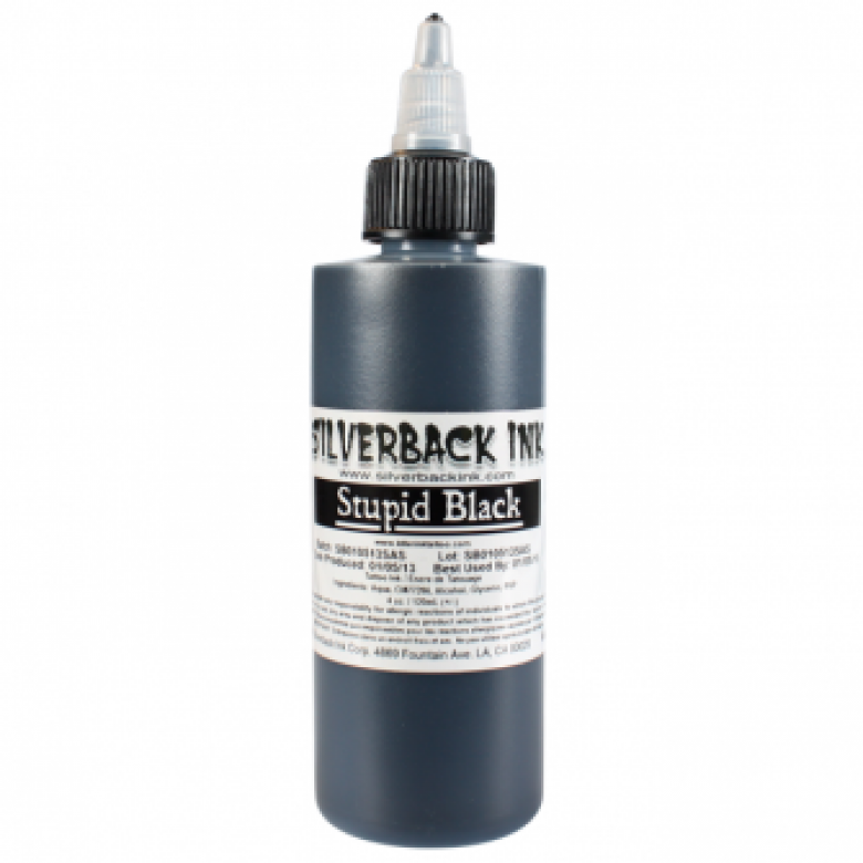 Silverback Ink® Stupid Black