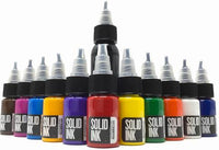 SOLID INK 12 Color Mini Travel Set SAMPLE SET