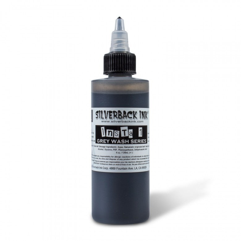 Silverback Ink® Insta10Shade Grey Wash Series – Shade 01 120ml (4oz)