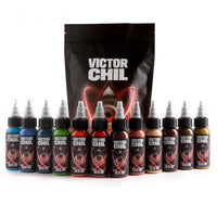 SOLID INK - Victor Chil | (12) 1 oz Color Set
