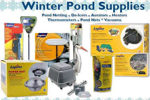 Pond fall and winter pond products