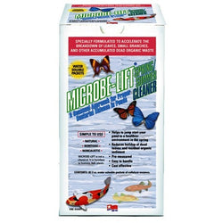 Microbe-Lift Spring/Summer Cleaner 8 Packets of Beneficial Bacteria. MLSSC - lagunapondsupplies.com