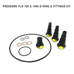 Replacement O-Ring & Fittings Set For Pressure Flo 700 & 1400 Filters - lagunapondsupplies.com