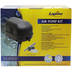 Aeration Kit 45 including airstones and tubing. Max output 45 LPM, PT1620 - lagunapondsupplies.com