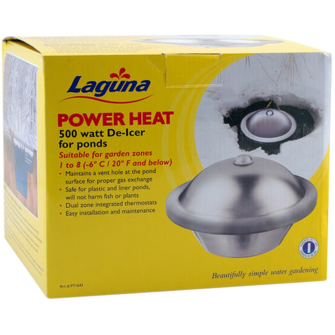 Power Heat - 500 Watt De-icer for Ponds PT1643 - lagunapondsupplies.com