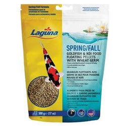 Spring/Fall Wheatgerm Fish Food 17oz, PT92 - lagunapondsupplies.com