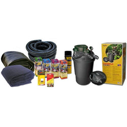 Deluxe 7' x 9' 1000 Gallon Pond Kit With Waterfall Stream. Pond-Kit - lagunapondsupplies.com