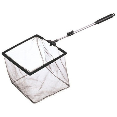 "Mini Pond Skimmer Net, 8""x6"" with 14""-24"" Telescopic Handle PT814 - lagunapondsupplies.com"