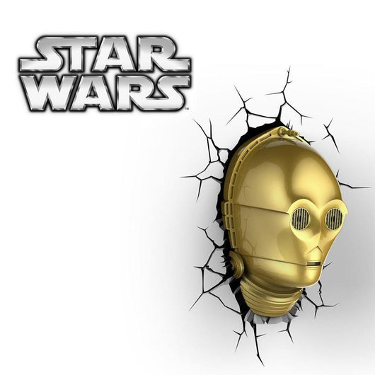 Star Wars C-3PO - 3D FX Night Light - Lamp