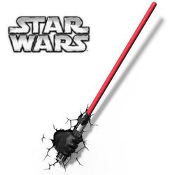 Star Wars Darth Vador Hand with Lightsaber - 3D FX Night Light - Lamp