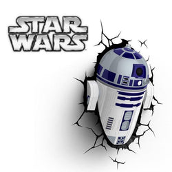 Star Wars R2-D2 - 3D FX Bedroom Night Light - Lamp