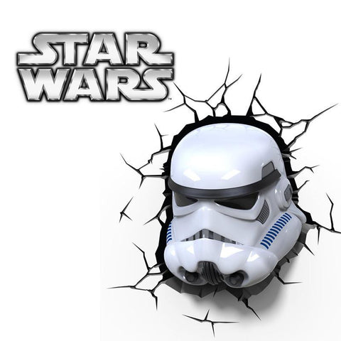 Star Wars Stormtrooper - 3D FX Kids Night Light - Lamp