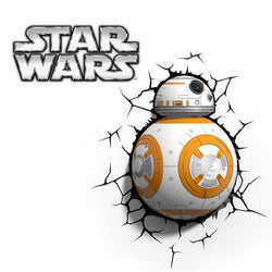 Star Wars BB-8 Droid - 3D FX Night Light - Lamp