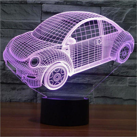 Beetle - 3D LED Lamp - Lamp