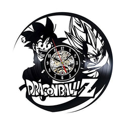 Dragon Ball Z - Vinyl Wall Clock - Lamp