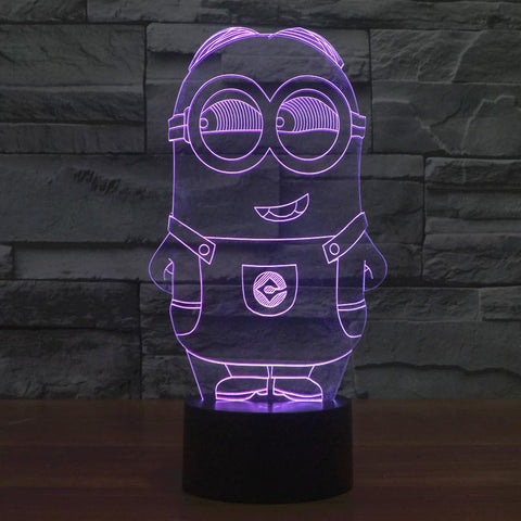 Minion - 3D LED Lamp - Lamp