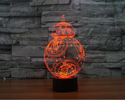 Star Wars - 3D LED Lamp - Lamp