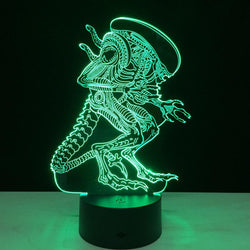 Alien - 3D LED Lamp - Lamp