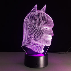Batman - 3D LED Lamp - Lamp