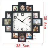 DIY Photo Wall Clock - Lamp