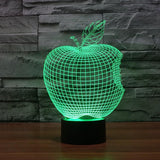 Apple - 3D LED Lamp - Lamp