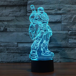 Iron Man (4 Designs to Choose From) - 3D LED Lamp - Lamp