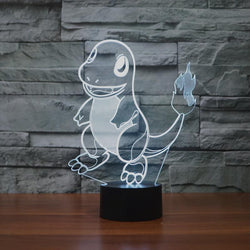 Charmander - 3D LED Lamp - Lamp