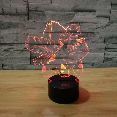 Bulbasaur - 3D LED Lamp - Lamp