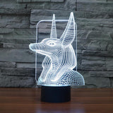 Pharaoh - 3D LED Lamp - Lamp