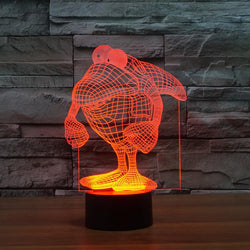 Shark Man - 3D LED Lamp - Lamp