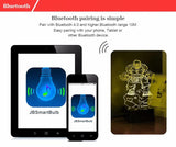 HULK - PREMIUM RANGE, BLUETOOTH APP TO CONTROL AND PLAY MUSIC - 3D LED LAMP - Lamp