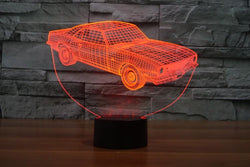 Vintage Car - 3D LED Lamp - Lamp