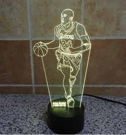 NBA Kobe Bryant - 3D LED Lamp - Lamp