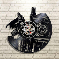 Batman The Dark Knight - Retro Vinyl Wall Clock - Lamp