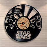 Star Wars - Retro Vinyl Wall Clock - Lamp
