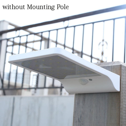Wall Mounted LED Solar Power Street Light PIR Motion Sensor Lamps - Lamp