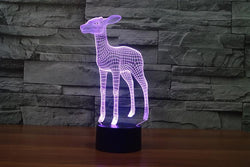 Baby Deer - 3D LED Lamp - Lamp