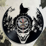 Batman Vinyl Wall Clock - Lamp