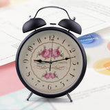 Large 22cm Diameter Kids Classic Alarm Clock - Lamp