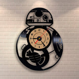 Star Wars BB-8 - Vinyl Wall Clock - Lamp