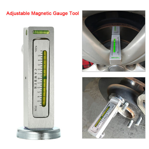 Magnetic Camber Gauge Tool to check your Wheel Alignment